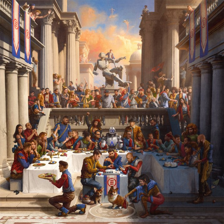 Logic-Everybody Album Artwork: Sam Spratt