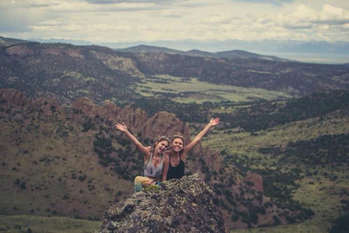 Macy Schuchart on Mountain