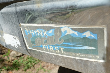 Think Local First Bumper Sticker