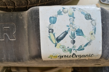 Grow Organic .com Bumper Sticker